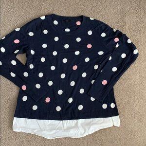 Talbots women's knit sweater